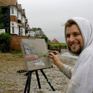 Artist Brian Korteling