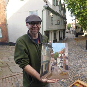 Artist Paul Alcock