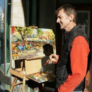 Artist Robert Nelmes