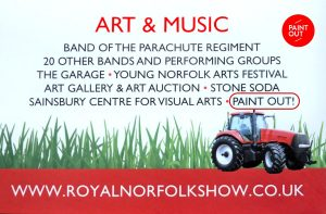 Royal Norfolk Show Art & Music, Paint Out