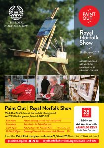 Paint Out Royal Norfolk Show Arnolds Keys art auction