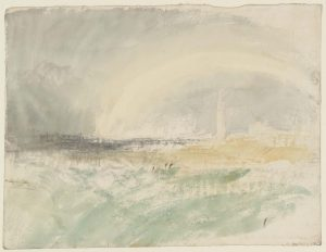 Firing Rockets at Great Yarmouth, Possibly Related to 'Life-Boat and Manby Apparatus Going Off' c.1831 Joseph Mallord William Turner 1775-1851 Accepted by the nation as part of the Turner Bequest 1856 http://www.tate.org.uk/art/work/D35977