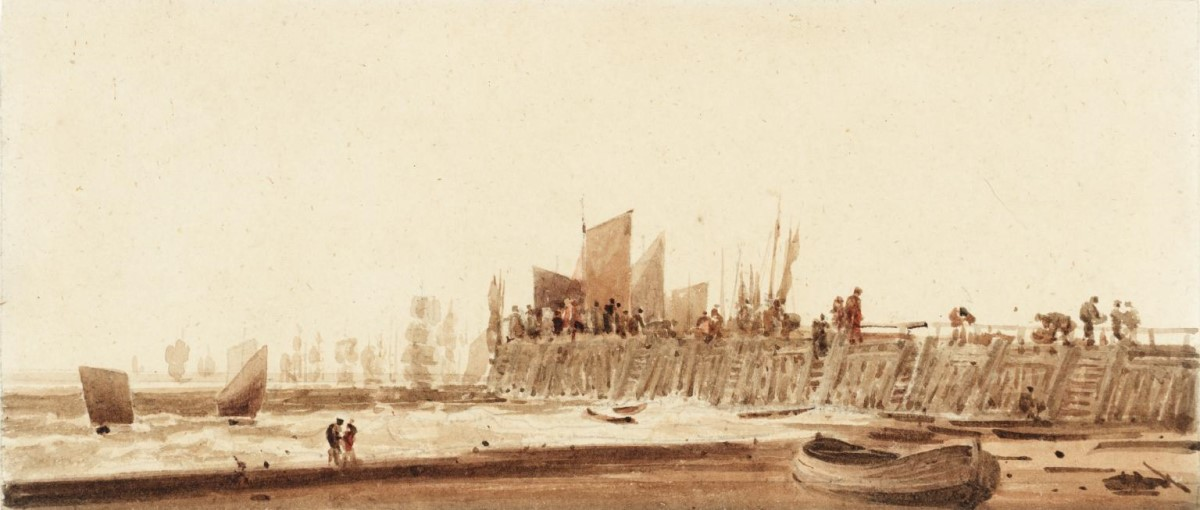 Yarmouth Jetty John Crome 1768-1821 Bequeathed by Miss Harriet Higginson 1917, Tate