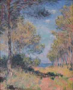 Claude Monet, Allée de sapins à Varengeville