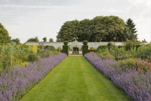 Houghton Hall, Walled Garden Glasshouse, Norfolk