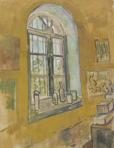 Window in the Studio, Vincent van Gogh, 1889, Van Gogh Musuem