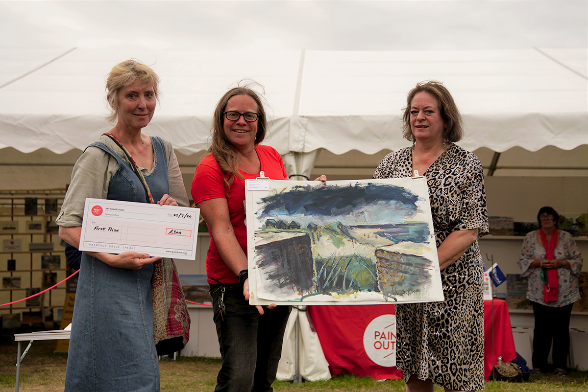 Susan Isaac, Paint Out Norfolk 2020, First Prize