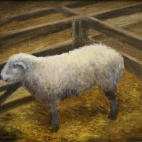 Artist Jennifer Sendall, 'Ready to Show', Norfolk Showground, Oil, 9x11in, £275